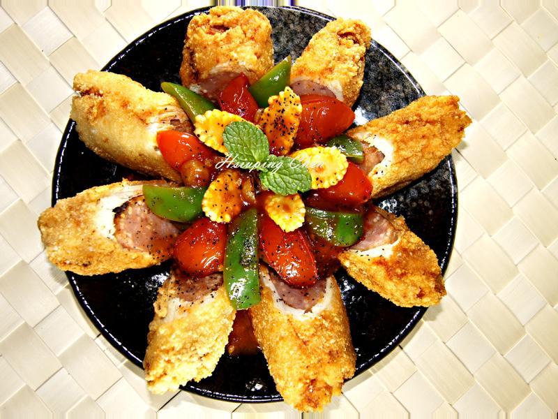 番茄雞肉捲【可果美蕃茄鍋高湯】