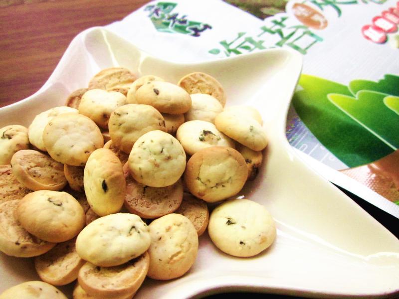 海苔堅果小圓餅「元本山海苔」