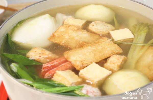 蔬菜高湯海陸鍋