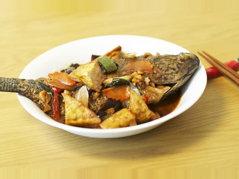 【哇菜】 紅燒魚豆腐