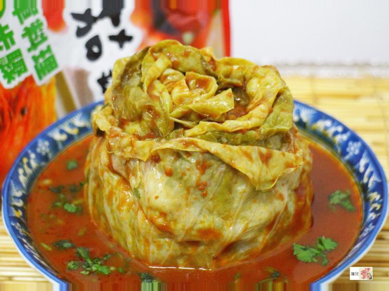 茄汁千層高麗菜花【可果美蕃茄鍋高湯】