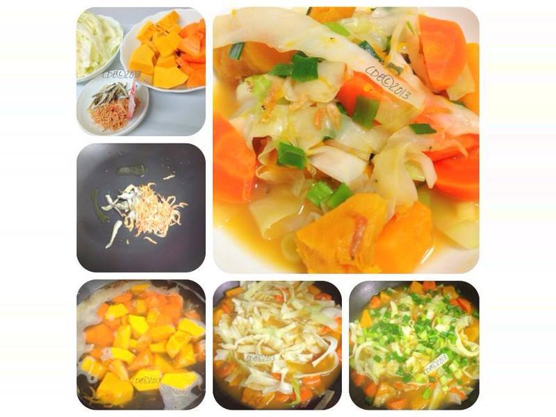 CDE 日式南瓜煮