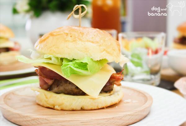 培根起司牛肉漢堡