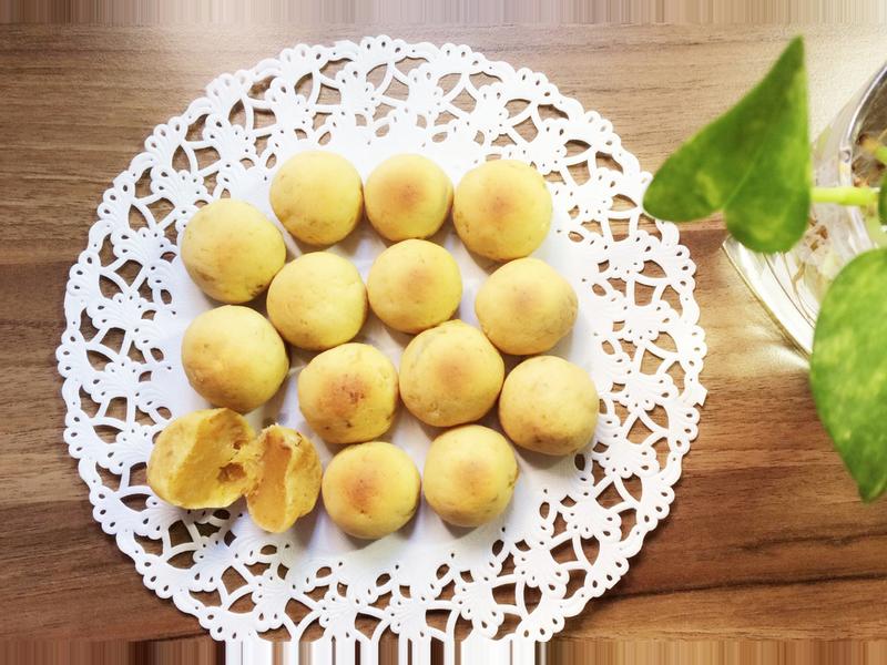地瓜麻糬球