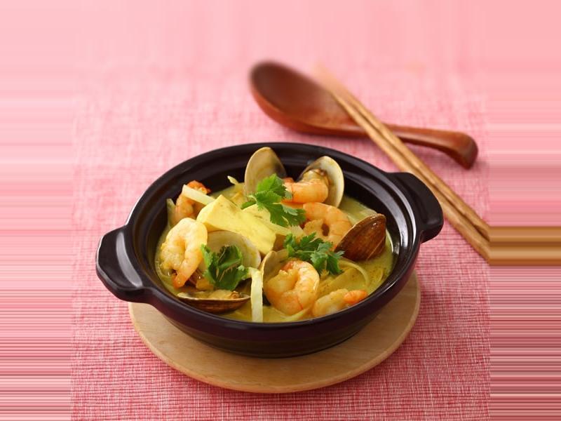 葡汁海鮮玉子豆腐