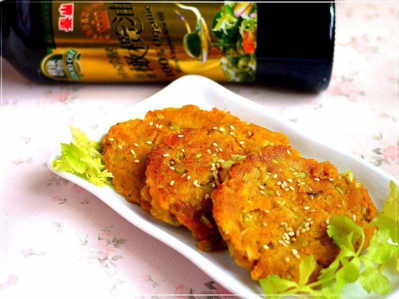 【泰山橄欖油】阿嬤味的芹香蕃薯煎餅