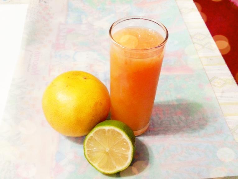 檸檬葡萄柚汁【富含豐富維他命C】
