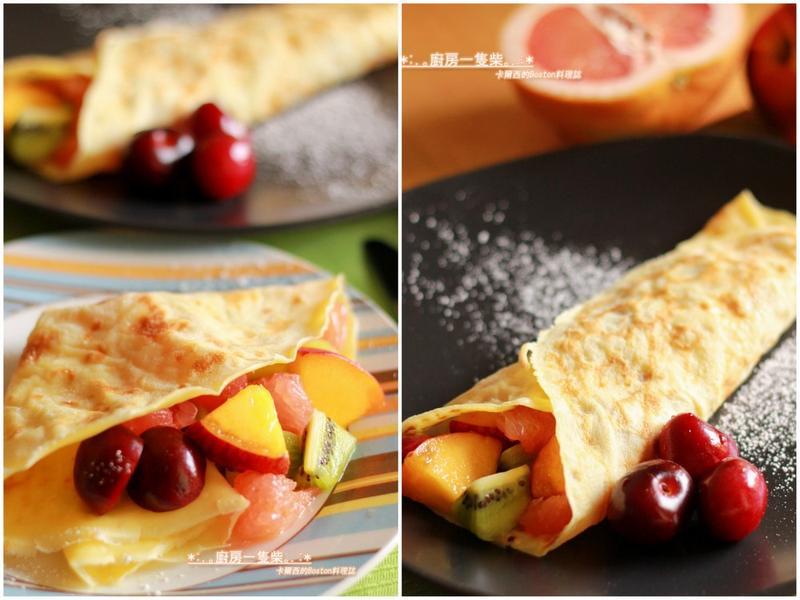 水果可麗餅 Fruit Crepes