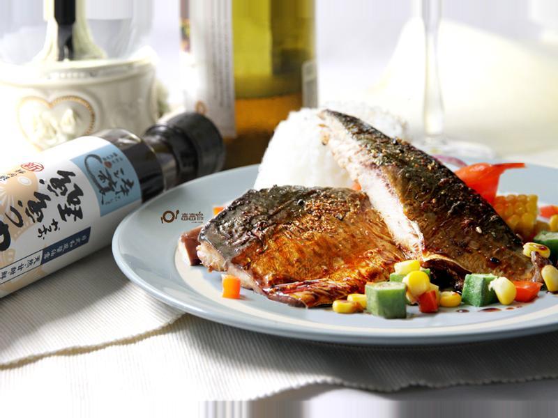 照燒鯖魚佐烤時蔬「時間淬釀的甘露之味」
