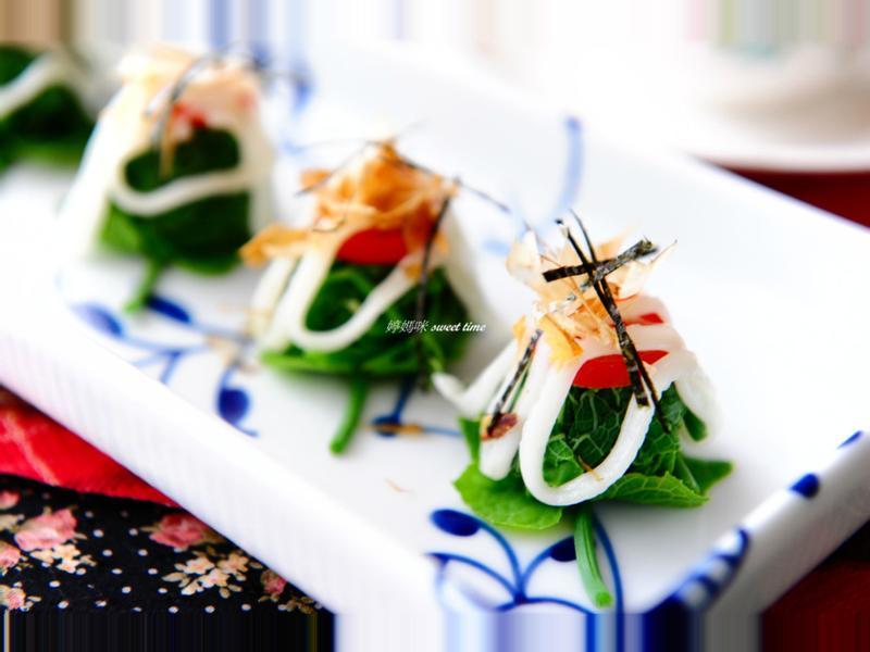 涼拌沙拉龍鬚菜