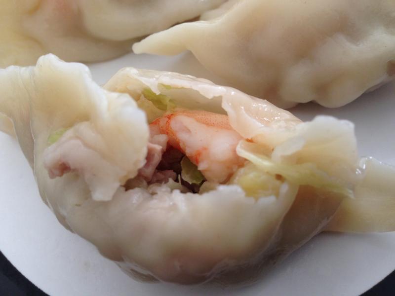 超簡單鮮蝦高麗菜水餃~輕鬆搞定