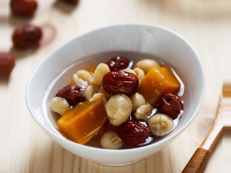 紅棗地瓜蓮子湯