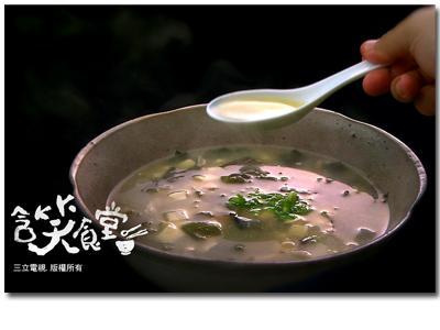 含笑食堂-豬肉蔬菜味噌湯食譜