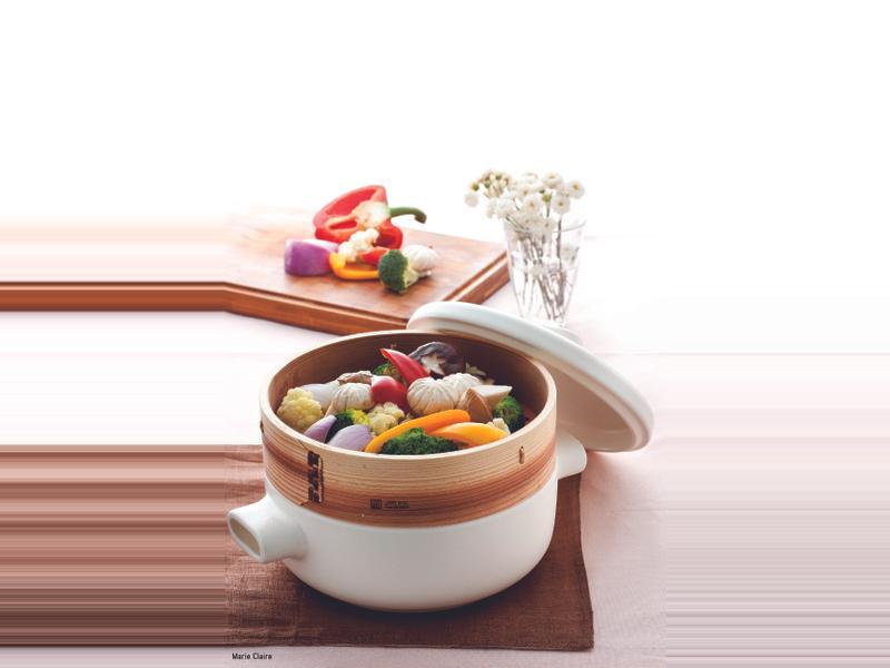 JIA Inc. 蒸鍋蒸籠 清蒸多色鮮蔬