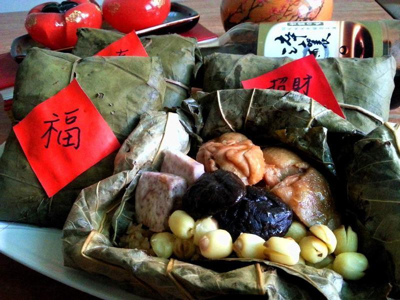 福袋滿滿荷葉飯[淬釀年菜料理]