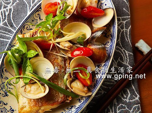 【無毒‧無二 真食物的生活家】煎白帶佐蛤蜊