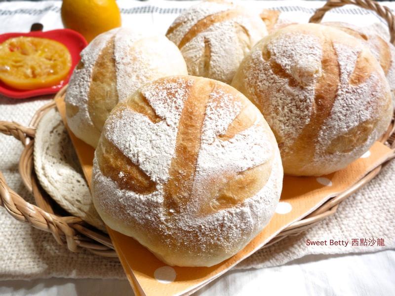 橙皮裸麥麵包