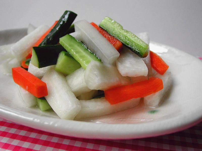 酸甜港式泡菜