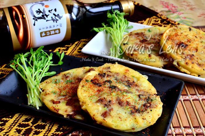 【淬釀中式下午茶點】酥脆煎肉餅