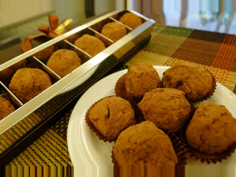 【七夕食譜】濃情松露巧克力