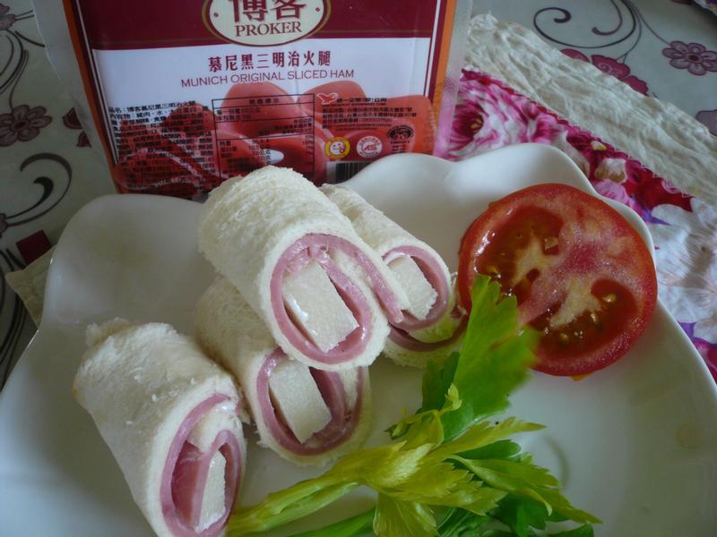 早午輕食筍土司─博客火腿