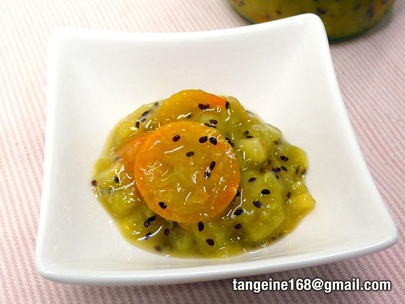 金棗奇異果醬 (甜點醬)