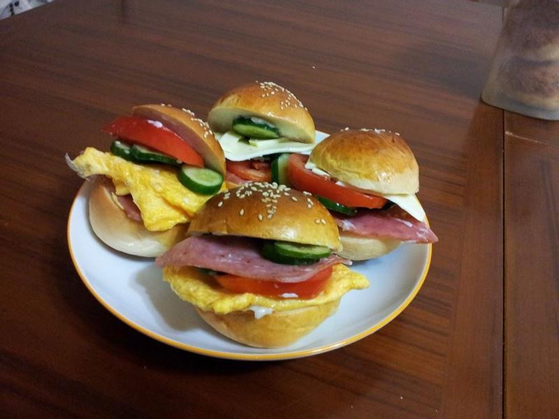 兒童專用小漢堡【烘焙展食譜募集】