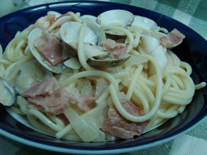 ~洋蔥培根義大利麵~