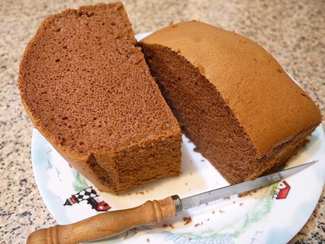 香濃巧克力戚風蛋糕食譜