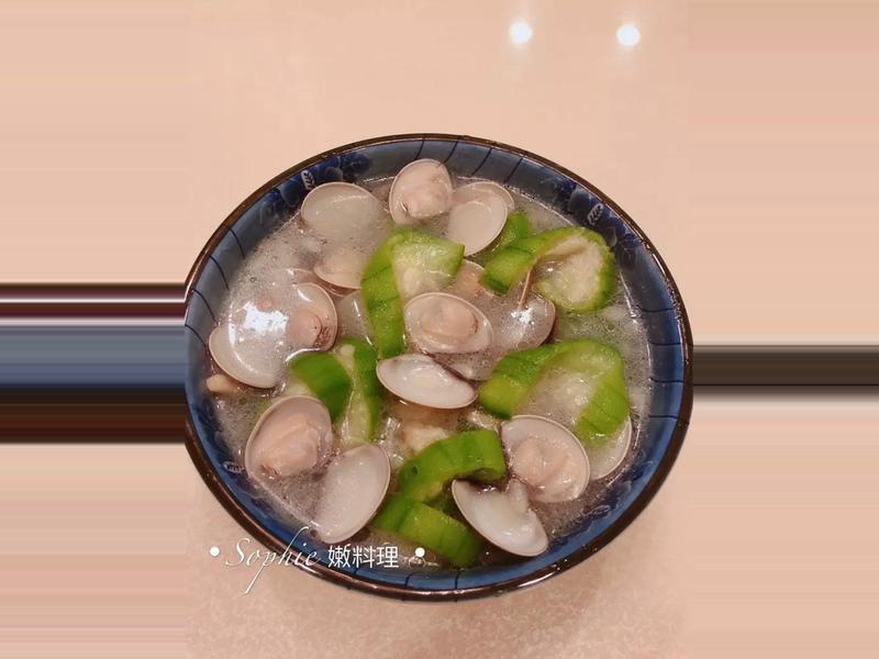 清淡的絲瓜蛤蜊湯