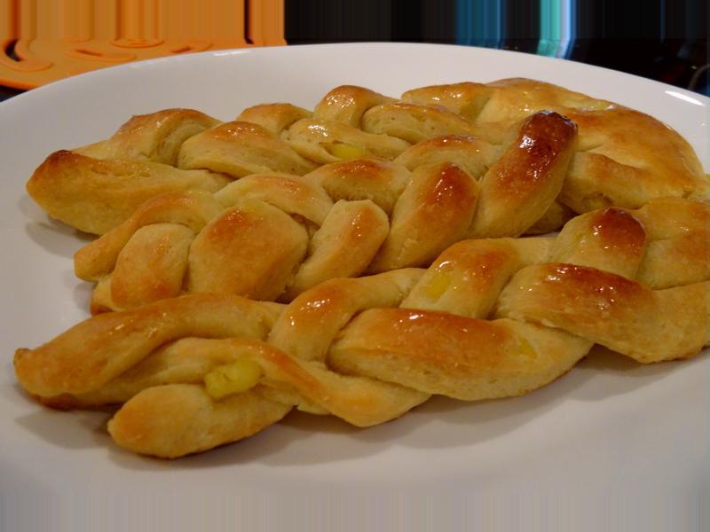 馬鈴薯麻花麵包