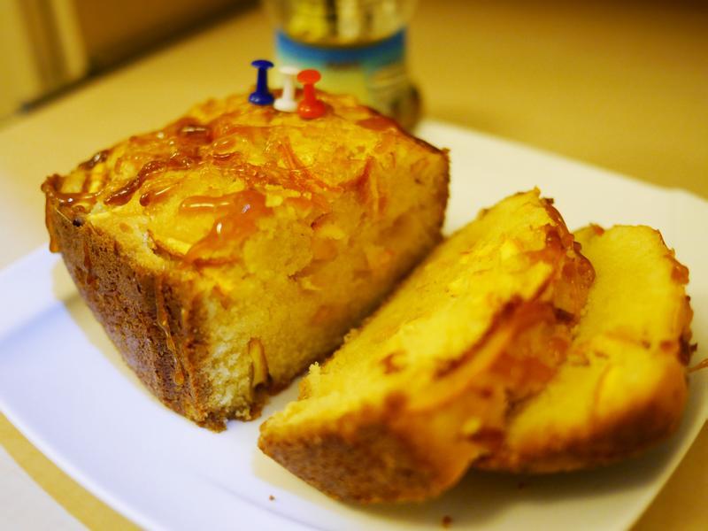 橙香磅蛋糕『Panasonic製麵包機』