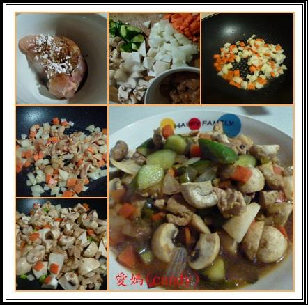 創意雞料理~醬燒蘑菇雞里肌