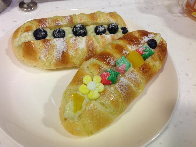 奶露水果麵包Panasonic製麵包機