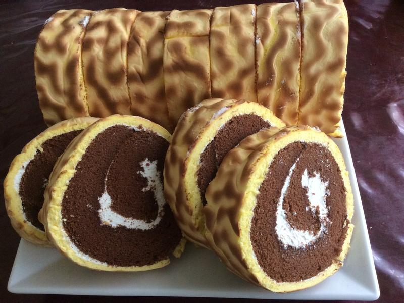 虎皮巧克力蛋糕