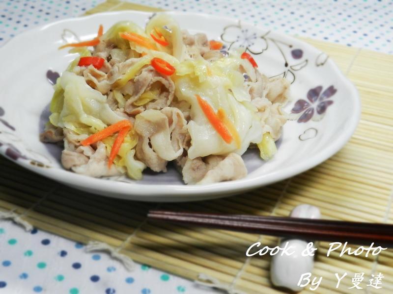 台式泡菜炒肉片