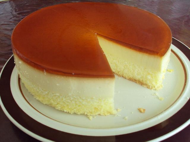 焦糖果凍布丁蛋糕