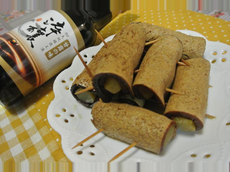豆腐捲菜心【淬釀中式下午茶點】