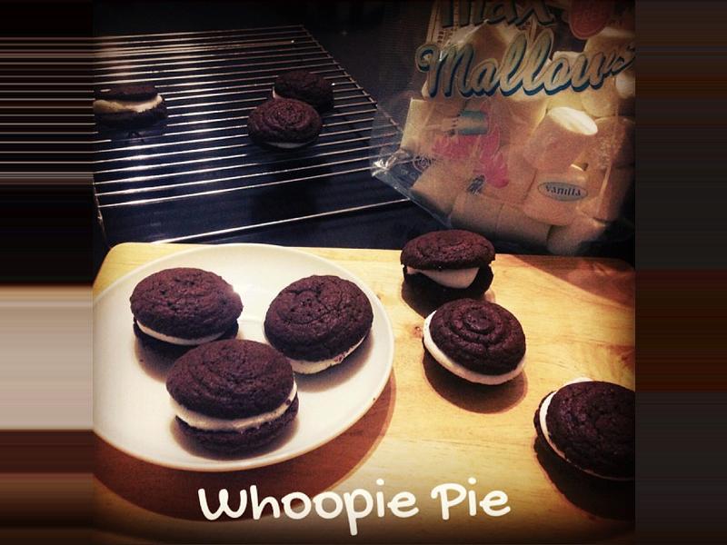 巧克力派-whoopie pie