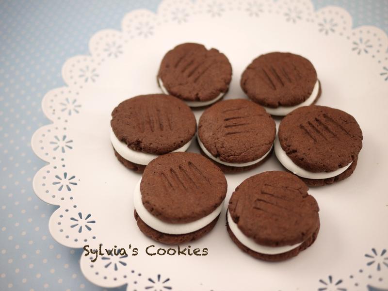 巧克力棉花糖餅乾