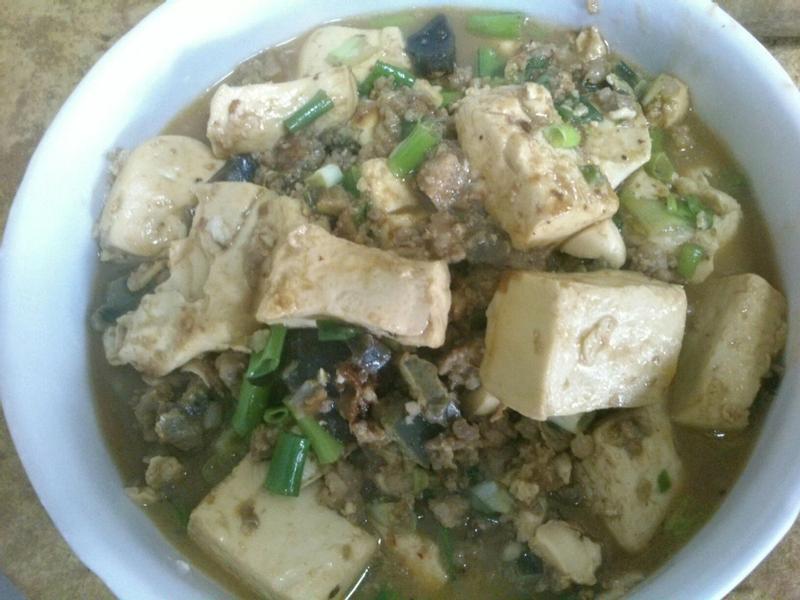 改造~麻婆豆腐
