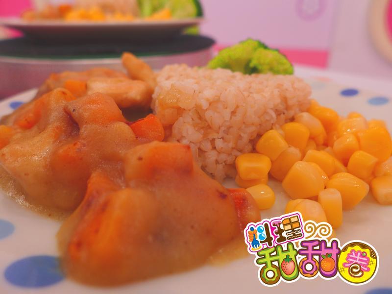 料理甜甜圈【家常美味】咖哩雞肉飯