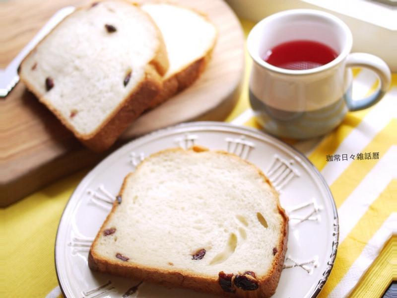 [麵包機] 蔓越莓鮮奶吐司