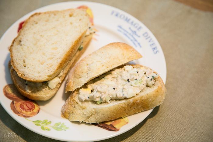 鮪魚沙拉奢華版
