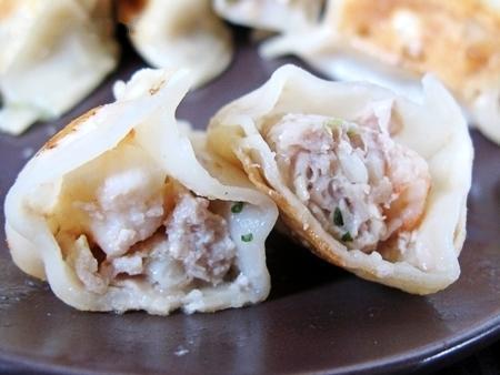 高麗菜鮮蝦餃
