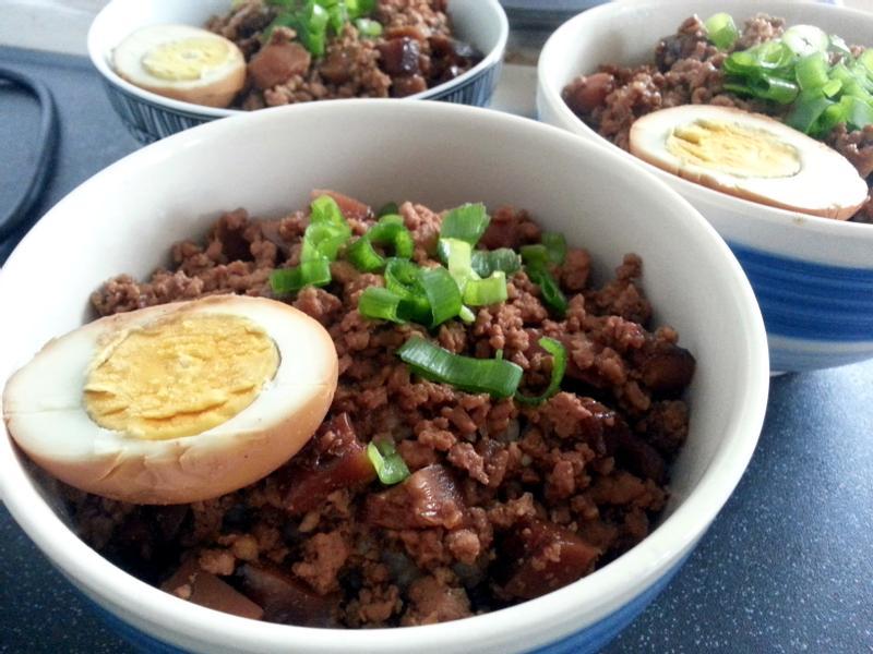 台式香菇肉燥飯
