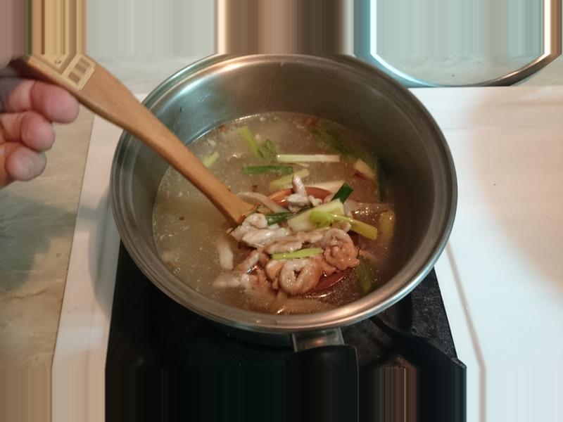 [湯類]榨菜肉絲湯