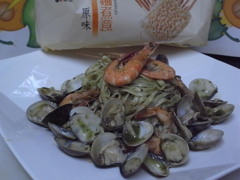 【五木拉麵】青醬海鮮拉麵