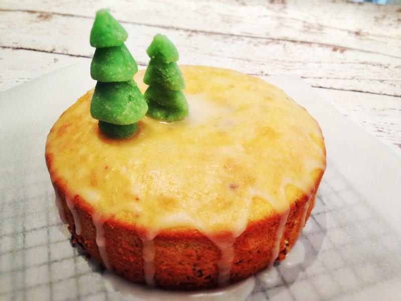 柳橙蔓越莓蛋糕 Cranberry Orange Cake
