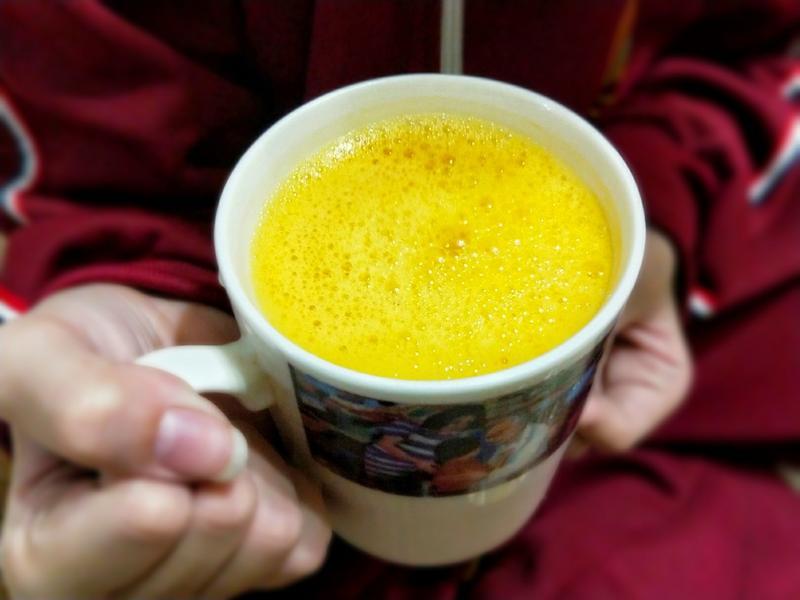 立冬飲品-紅蘿蔔酒釀薑汁飲